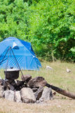 Camping tent Stock Image