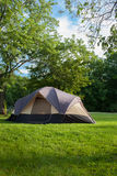 Camping Tent at Campground Royalty Free Stock Photography