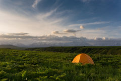 Camping tent stock photos