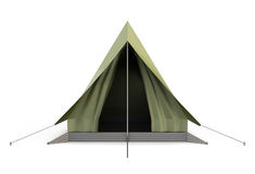 Camping Tent front view Royalty Free Stock Image