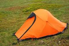 Camping tent Royalty Free Stock Photo