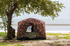 Camping tent Royalty Free Stock Image