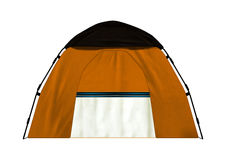 Camping Tent on White Royalty Free Stock Photo