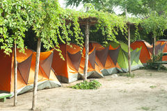 Camping tents Stock Photos