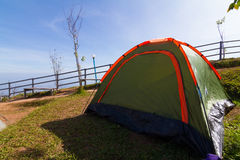 Camping tents Royalty Free Stock Photography