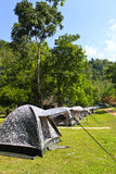 Camping in Thailand Royalty Free Stock Images
