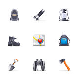 Camping Tools Stock Photography