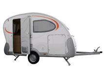 Camping trailer vehicle Stock Image