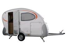 Camping trailer vehicle Stock Image