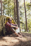 Camping trip Royalty Free Stock Photography