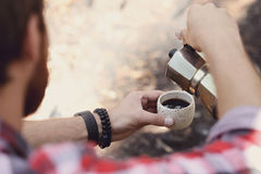 Camping trip Stock Photography