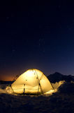 Camping Under The Stars Stock Photography