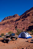 Camping in Utah Stock Photos