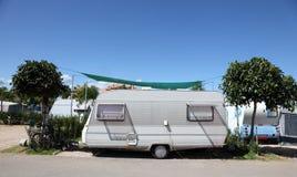 campingowy karawanowy miejsce Obrazy Stock