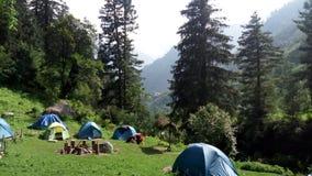 Campingowy miejsce Obraz Stock