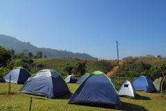 campingowy namiot Zdjęcia Stock