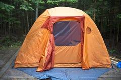 campingowy namiot Fotografia Stock