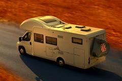 campingowy samochód Zdjęcia Stock
