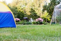 campingowy wakacje Zdjęcie Stock