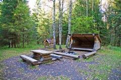 Campingplace Fotografia de Stock