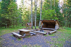 campingplace fotografia stock