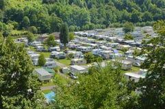 Campingplats Arkivbild
