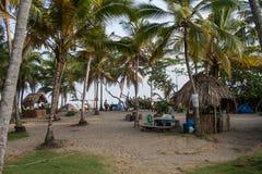 Campingplats i Colombia Royaltyfri Fotografi