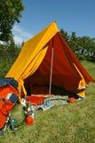 Campingplatz Stockbilder
