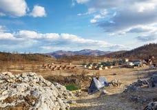 Campingplatz Lizenzfreies Stockfoto