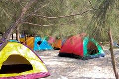 campingplatz stockfoto