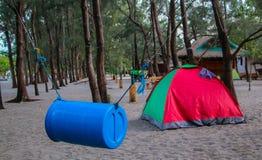 campingplatz stockfotos