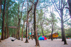 campingplatz stockfotografie
