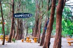 campingplatz lizenzfreie stockfotos
