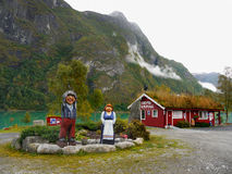 Campings  Norway Royalty Free Stock Photo
