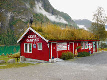Campings  Norway Royalty Free Stock Photography