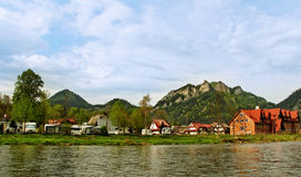 Campings at the Pieniny mountains. Stock Photos