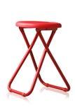 Campingu przenośny i przenośny kolorowy krzesło Zdjęcia Stock