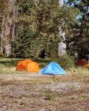 Campingzelte lizenzfreies stockfoto