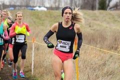 Campionati correnti canadesi 2015 del paese trasversale Fotografia Stock Libera da Diritti