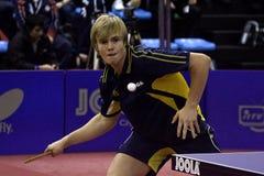 Campionati del junior del mondo di ITTF Fotografia Stock Libera da Diritti