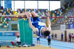 Campionati dell'interno di atletica del Balcani Fotografie Stock