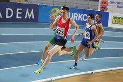 Campionati dell'interno di atletica del Balcani Fotografia Stock