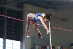Campionati dell'interno di atletica del Balcani Immagini Stock Libere da Diritti