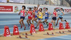 Campionati dell'interno di atletica del Balcani Fotografie Stock Libere da Diritti