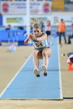 Campionati dell'interno di atletica del Balcani immagine stock