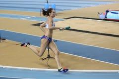 Campionati dell'interno di Costantinopoli di atletica Fotografia Stock