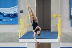 Campionati dell'interno italiani d'immersione Immagine Stock Libera da Diritti