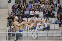 Campionati dell'interno italiani d'immersione Fotografia Stock Libera da Diritti