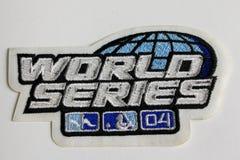 2004 campionati di baseball della toppa Fotografia Stock Libera da Diritti