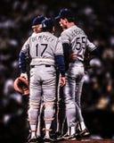 1988 campionati di baseball, incontrantesi sul monticello Fotografie Stock Libere da Diritti